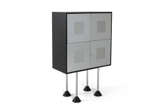 Pastoe Postmodern Memphis Style Cabinet by Gerard Van Den Berg - 1980s