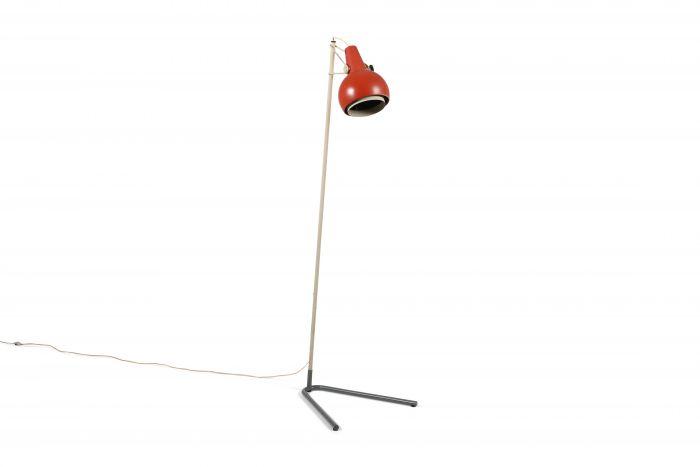 Louis Kalff rare floor lamp Model 'NX29' by Philips - 1950's