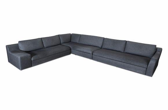 Grey Cassina Mister Sofa, Philippe Starck - 2016