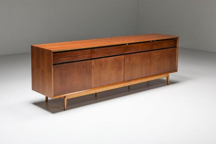 Rosewood & Walnut Madison Sideboard from De Coene - 1958