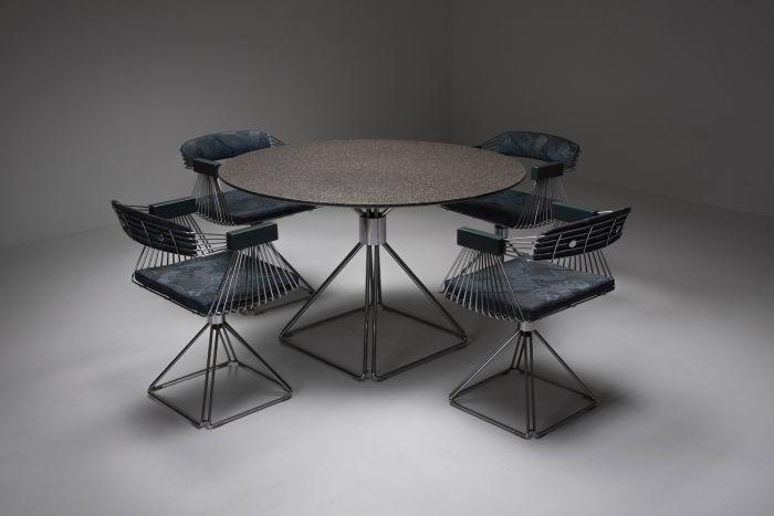 Mid-Century Modern Novalux dining set by Rudi Verelst - 1970's
