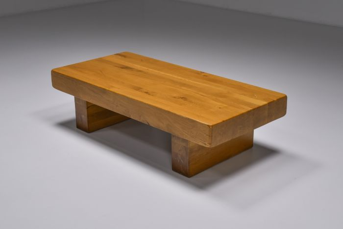 Craftsman Wooden Coffee Table - 1960's