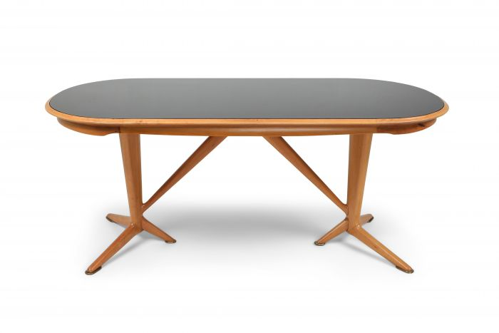 Oak Dining Table in the style of Gio Ponti - 1970s