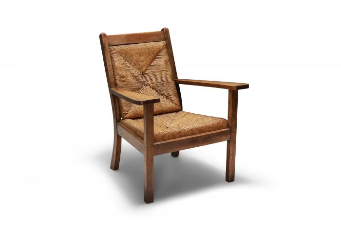 Rustic Modern Chairs 'Worpswede' - 1960's