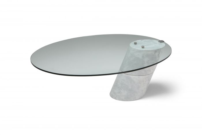 Postmodern Marble Coffee Table by Ronald Schmitt - 1980's
