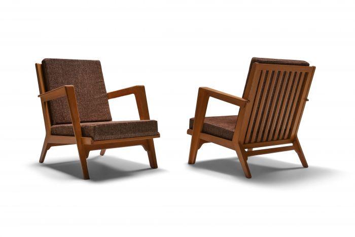 Modernist easy chairs by Elmar Berkovich - 1950's