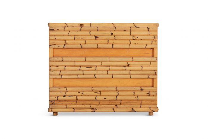 Venturini Bamboo Chest Of Drawers - 1970s