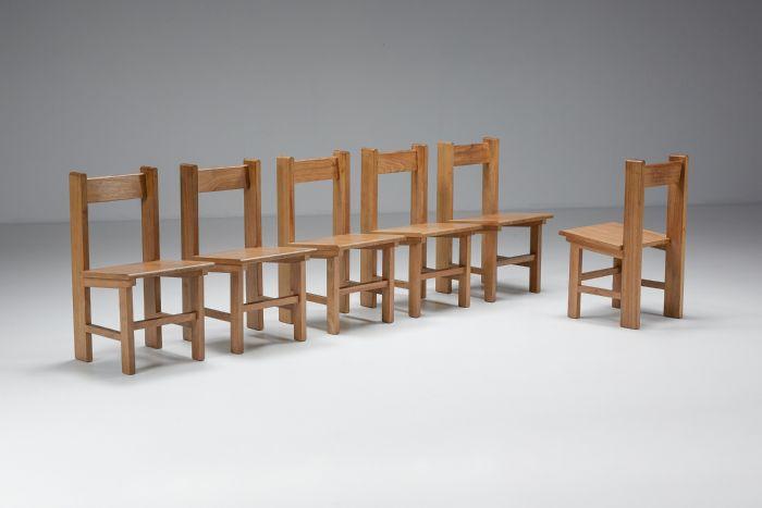 Wim Den Boon Dutch Modernism Dining Chairs - 1950's