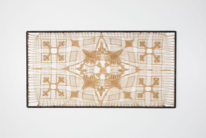 Hand-Woven Craftsman Wall Artwork - 1980's